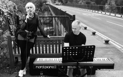 Legal Live Performance on top of the bridge in Hay-on-Wye – 4 pm on Sunday 10th July