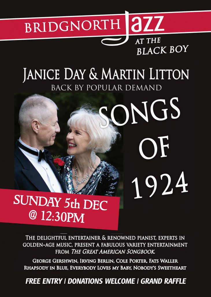 Jazz - 5th Dec - Janice Day & Martin Litton